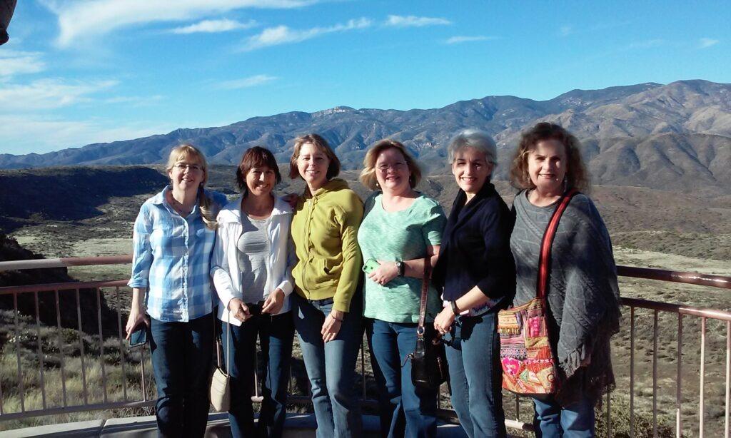 Tara, Aida, Me, Denise, Carolyn, Mitzi in 2015