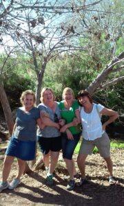 Mitzi, Denise, Tara, Aida, 2015